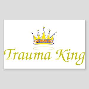 Trauma King Rectangle Sticker