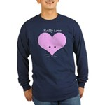 Ratty Love Long Sleeve Dark T-Shirt