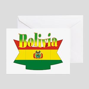 Bolivian ribbon Greeting Cards (Pk of 10)