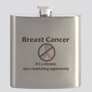 Breast Cancer - Not a Marketing Opportunity! Flask