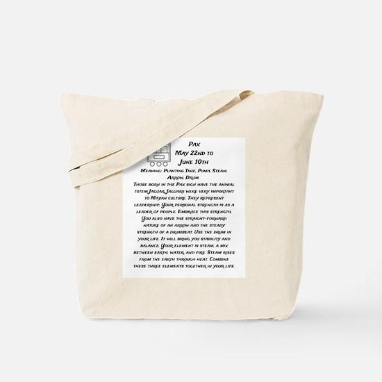 Pax Traits Tote Bag