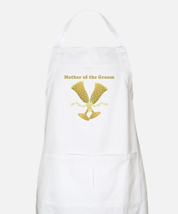 Champagne Mother of the Groom Apron
