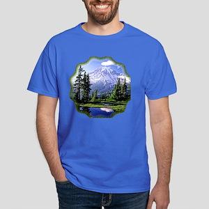 Mt Raineer National Park Dark T-Shirt