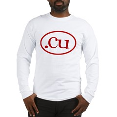 .cu Long Sleeve T-Shirt