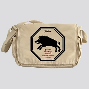 Year of the Boar - Traits Messenger Bag