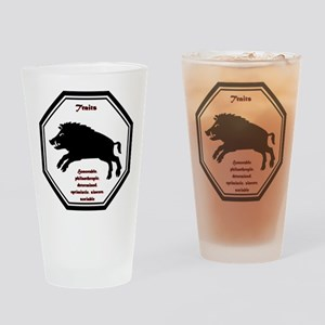 Year of the Boar - Traits Drinking Glass