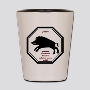 Year of the Boar - Traits Shot Glass