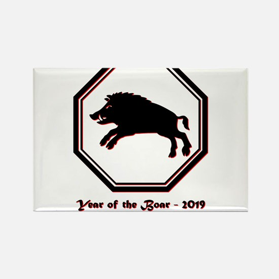 Year of the Boar - 2019 Magnets