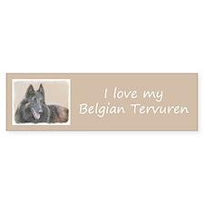 Belgian Tervuren Sticker (Bumper)