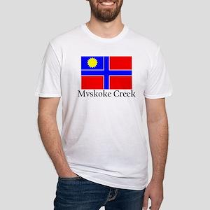 Mvskoke Creek Fitted T-Shirt