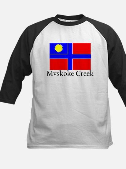 Mvskoke Creek Kids Baseball Jersey