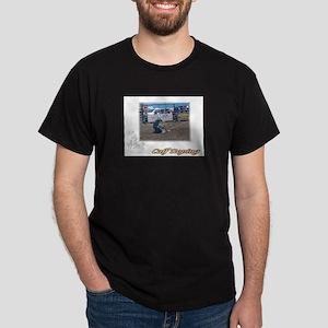 Calf Roping 1 Dark T-Shirt