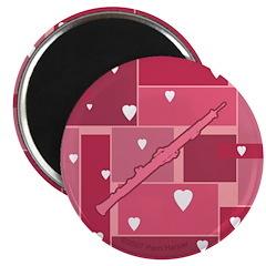 Oboe Hearts - Magnet