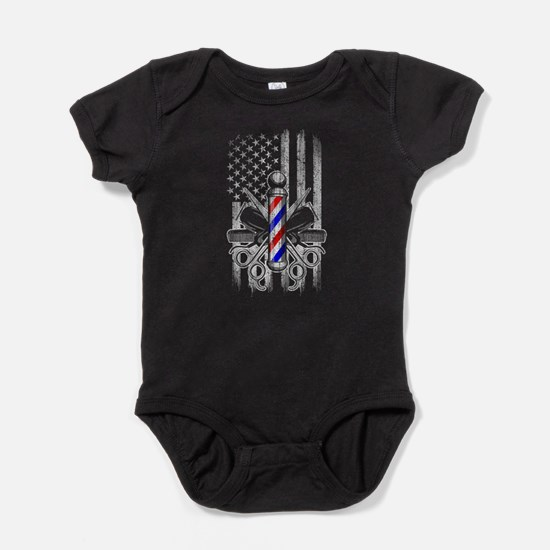 Barber American Flag Body Suit