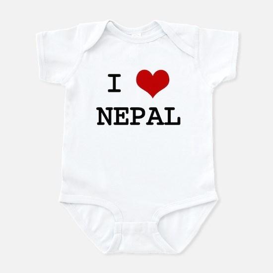 I Heart NEPAL Infant Bodysuit