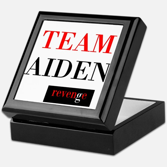 Team Aiden Keepsake Box