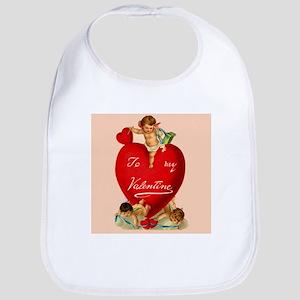 Victorian Valentine Heart Bib