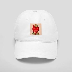 Victorian Valentine Heart Cap