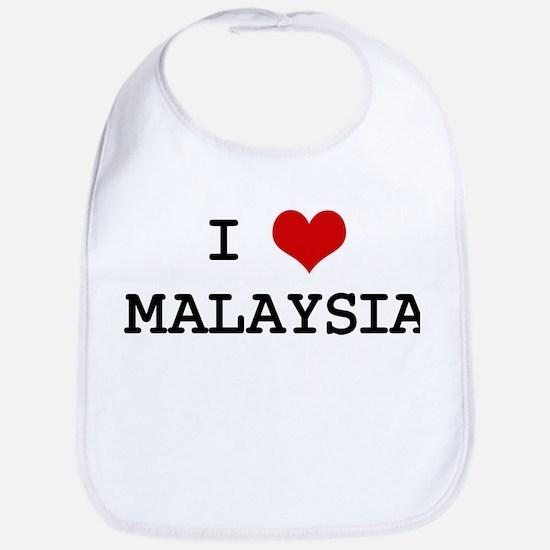 I Heart MALAYSIA Bib