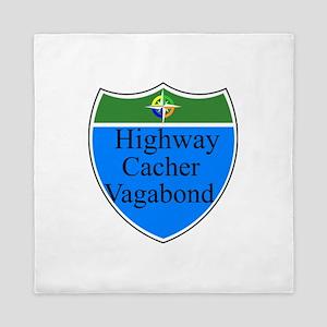 Highway Cacher Vagabond Queen Duvet