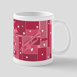 Trumpet Hearts - Mug