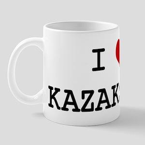 I Heart KAZAKSTAN Mug