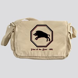 Year of the Boar - 1983 Messenger Bag