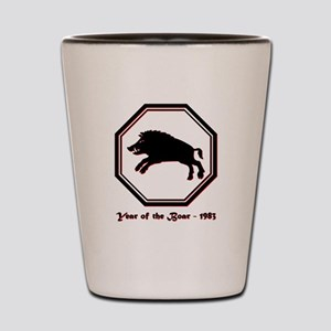 Year of the Boar - 1983 Shot Glass