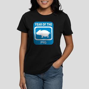 Year Of The Pig Women's Dark T-Shirt
