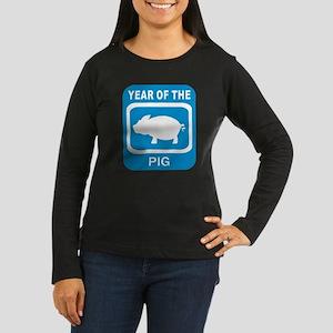 Year Of The Pig Women's Long Sleeve Dark T-Shirt
