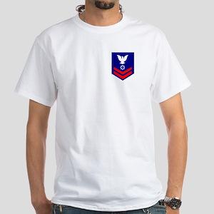 TRACEN Cape May<BR> MK2 White T-Shirt