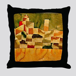 Paul Klee: Oriental Architecture Throw Pillow
