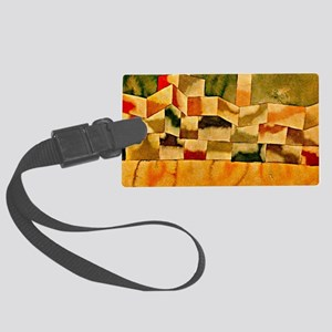 Paul Klee: Oriental Architecture Large Luggage Tag