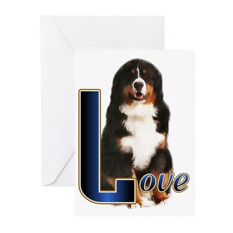 Bernese Mtn Dog Greeting Cards (Pk of 10)