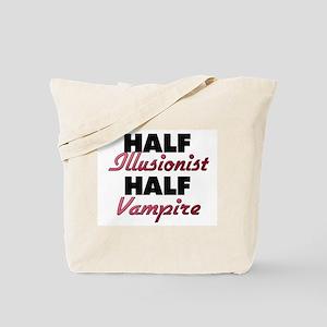Half Illusionist Half Vampire Tote Bag
