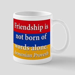 Frienship Is Not Born 11 oz Ceramic Mug