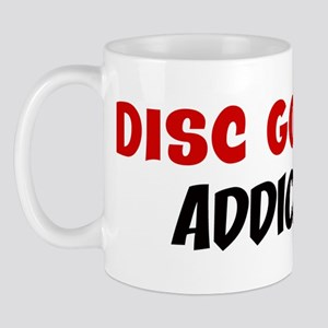Disc Golf Addict Mug