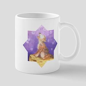 Adopt a wolf and wolf howling Mug