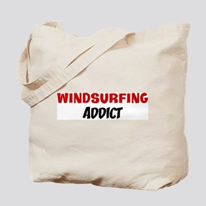 Windsurfing Addict Tote Bag