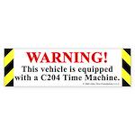 C204 Time Machine Warning