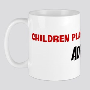 Children Playground Sport Add Mug
