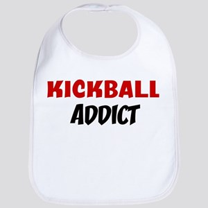 Kickball Addict Bib
