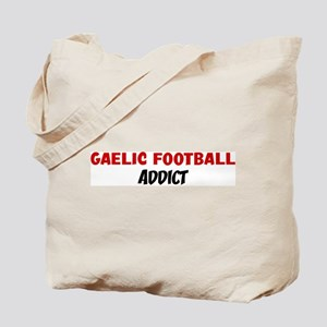 Gaelic Football Addict Tote Bag