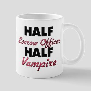 Half Escrow Officer Half Vampire Mugs