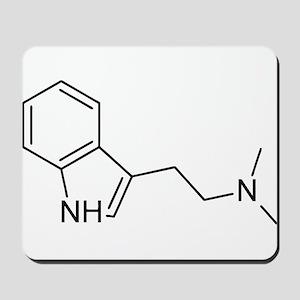 DMT Chemical Structure Mousepad