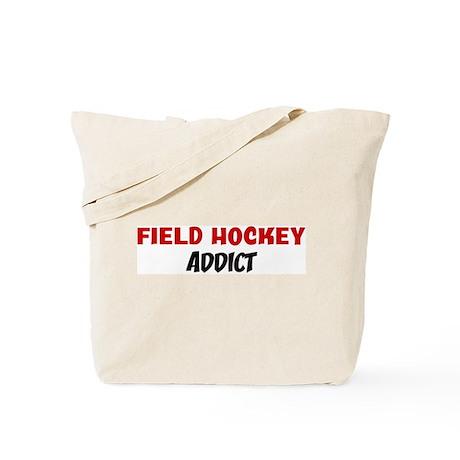 Field Hockey Addict Tote Bag