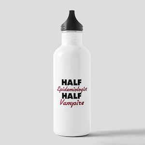 Half Epidemiologist Half Vampire Water Bottle