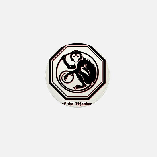 Year of the Monkey - 1956 Mini Button