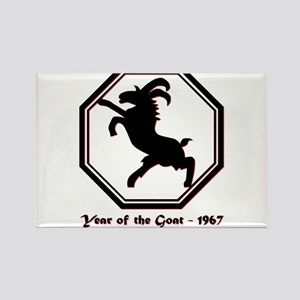 Year of the Goat - 1967 Magnets