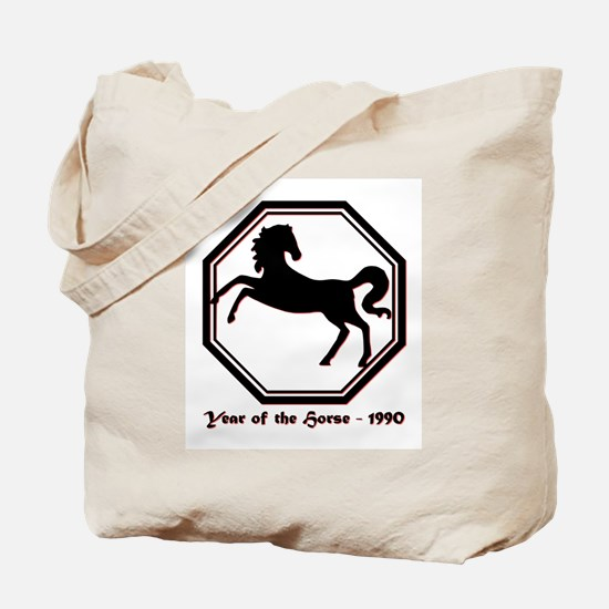 Year of the Horse - 1990 Tote Bag